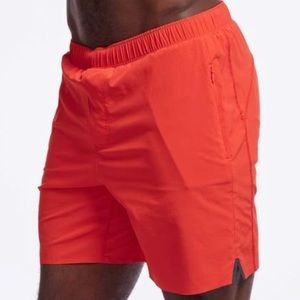 "RHONE MEN'S 7"" LINED RUNNING SHORTS"